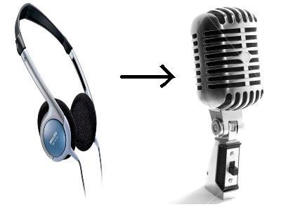 Use Headphones or Earbuds as Mic