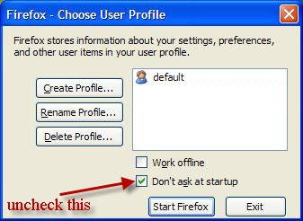 firefox-profile-manager