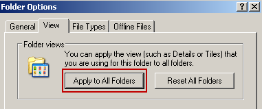 how-to-set-default-view-in-windows