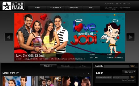 watch star tv online with star player