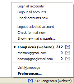 login to multiple gmail accounts in firefox