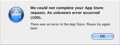 How To Fix Mac App Store Request Error 100