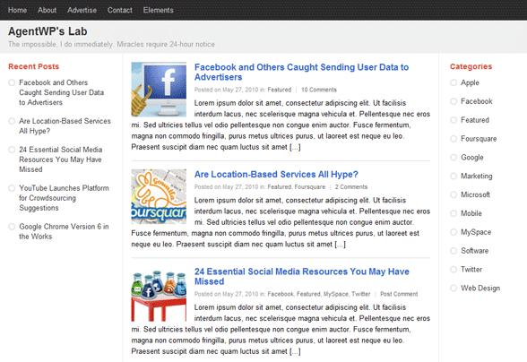 PlusOne WordPress Theme