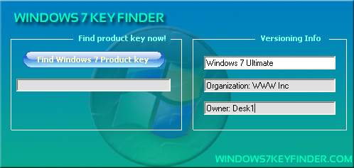 Windows 7 Ultimate 64 Bit Product Key