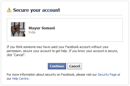How to recover your hacked facebook account click ccuart Image collections