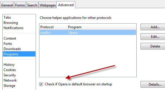 how to make google your default browser on firefox