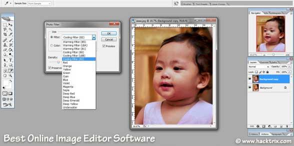 Best Free Online Image Editor Software