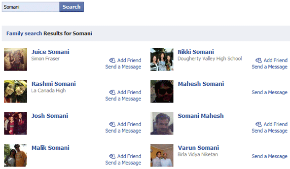 Find Everyone With Same Last Name or Surname on Facebook
