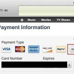 Remove Credit Card Information From Apple.com