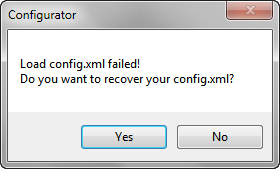 load config.xml failed notepad++