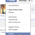 How To Unfriend or Remove a Friend on Facebook