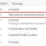 What is International Shipment Release or Int'l Shipment Release in FedEx Tracking